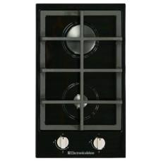 плита панель газовая TG2_400215F-007 черная, ручки нерж