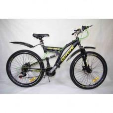 "Велосипед COYOTE 26"" 21ск 2аморт, диск торм перед задний"