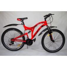 """Велосипед CRUISE 26"""" 21 ск диск торм"""
