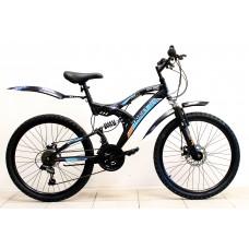 """Велосипед Иж-Байк TARGET 24"""" 18ск диск торм перед задний, Shimano зеленый"""