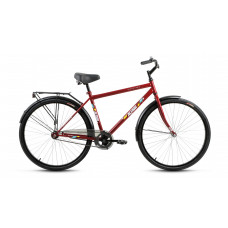 Велосипед Altair-City high 28 (2018) 1ск сталь бордовый с рамой без корзины