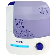 VC-200 Увлажнитель Veconte мощность 35W встроен фильтр с керамическими камнями объем 4л, площадь увлажнения 40кв. м. фиолетовый