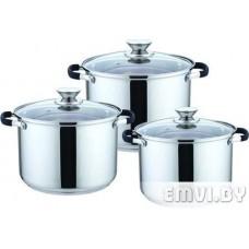 Набор посуды (3 кастр) DO-1702