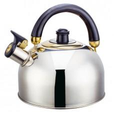 ВЕ-0562 Чайник нерж индукц склад ручка 2,5л