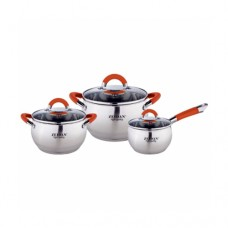 Z-50618 Набор посуды 6 предметов (2,0л 3,0л 4,0л)