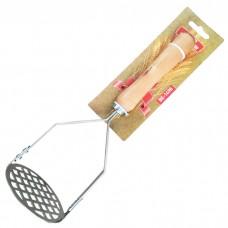 """ВЕ-1498 Пресс для картофеля """"Ностальжи"""" с деревянной ручкой"""