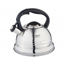 Z-4157 Чайник со свистком 3,0л нерж