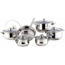 Набор посуды 12пр ВК-2710 нерж