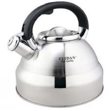 Z-4173 Чайник со свистком 4,0л нерж