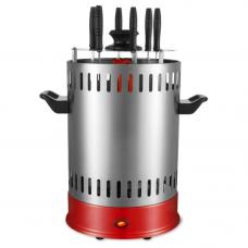 Шашлычница электрич SA-7811SR 1000Вт 6 шамп