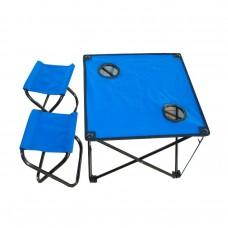 IRG-521 Стол складной с двумя табуретами