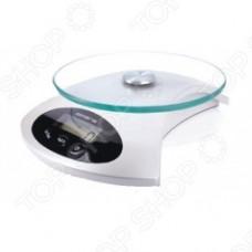 Весы кухонные POLARIS PKS 0512DG, белый перламутр