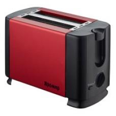 Тостер Яромир ЯР-602 красный с черным 700Вт металл