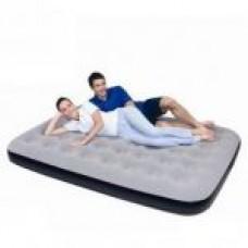 67389 Надувная кровать покрытая флоком 191х137х22