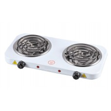 Плитка электрическая Помощница ЭЛП-802 спираль белая