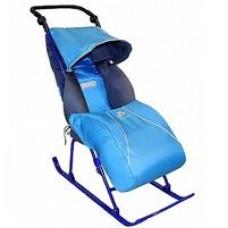Санки-коляска Тимка2+ Т2+ синий витрина