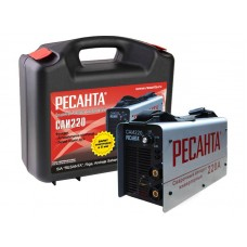 Инверторный сварочный аппарат в кейсе РЕСАНТА САИ-220