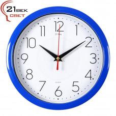 2222-335 Часы настенные синие