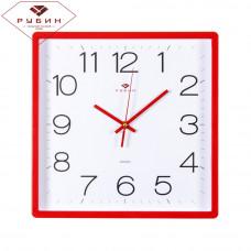 3028-141R Часы настенные красные