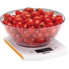 Весы кухон электр SA-6068А 5кг бел/оранж