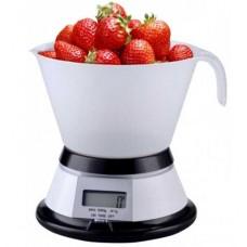 Весы кухонные KL-1509 с чашей электронные