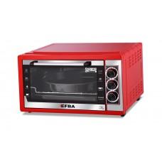 5003 EFBA Духовка красная 44л 1200 Вт