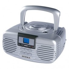Магнитола (бумбокс) SUPRA BB-CD 101 silver