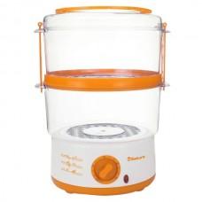 Пароварка SA-7213A 2ч 5л 500Вт бел/оранж