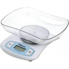 Весы кухон электр SA-6068G 5кг бел/зелен