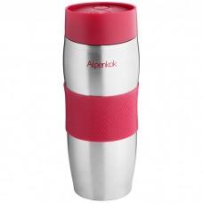 Термокружка вакуумная Alpenkok нерж АК-04001А красная 400мл