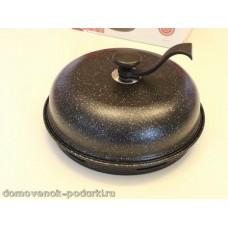 Сковорода гриль-газ D-509 мраморное покрытие съемная ручка