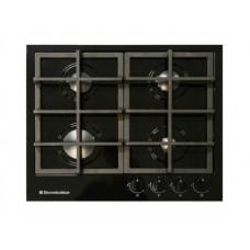 плита панель газовая GG4_750229F-012 черная ручки нерж