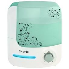 VC-200 Увлажнитель Veconte мощность 35W встроен фильтр с керамическими камнями объем 4л, площадь увлажнения 40кв. м. белый