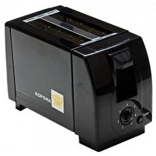 002-ТВ Тостер 2 секции 750Вт black