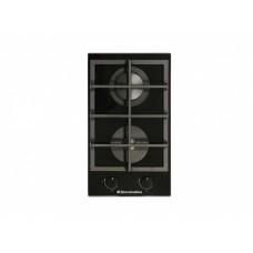 Плита панель De Luxe GG2_400215F-000 газовая черная