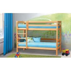 """Кровать из массива """"Омега 14"""" вариант №9"""