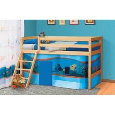 """Кровать из массива """"Омега 14"""" вариант №12"""