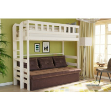 Кровать 2-х яр. массив №4 (софа)