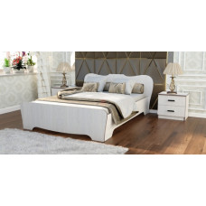 Кровать 0,9 * 1,9 (анкор светлый) №1
