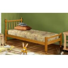 """Кровать из массива """"Омега 14"""" вариант №7"""