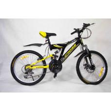 "Велосипед Иж-Байк Кросс 20"" 18ск диск торм перед, Shimano"