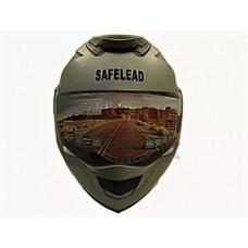 Шлем TRANSFORMER Safelead LX-119 (L) белый перламут, черный со встроенным очками