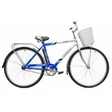 Велосипед Байкал 28 (2808) 1ск сталь рама+корзина, муж