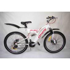 """Велосипед Иж-Байк COYOTE 26"""" 21ск 2аморт, диск торм перед задний"""