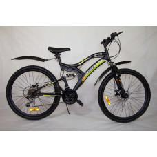 "Велосипед Иж-Байк TARGET 26"" 18ск диск торм перед задний, Shimano"