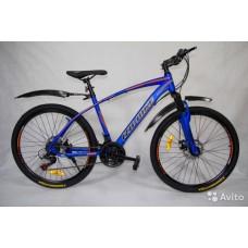 """Велосипед Иж-Байк GRAND 26"""" 21 ск диск торм оранжевый"""