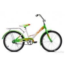 Велосипед Комета 20 (200503К) детск город белый/зеленый