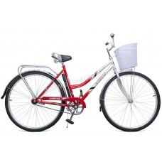 Велосипед Байкал 28 (2809) 1ск сталь без рамы+корзина