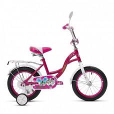 Велосипед двухколесный детский Кумир KL02 К1202 розовый