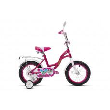 Велосипед двухколесный детский Кумир KL02 К1402 розовый